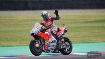 MotoGP: Dovizioso: la pole di Miller? Ho avuto paura per lui