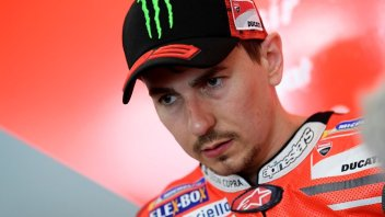 "MotoGP: Lorenzo: ""Già sapevo che avrei sofferto in gara"""