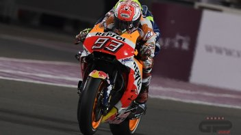 MotoGP: Marquez on the podium... like Wayne Rainey