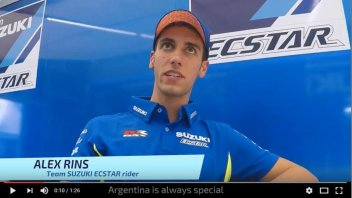 MotoGP: Rins: in Argentina I like the track... and the food