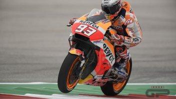 MotoGP: FP1: Duello ad Austin tra Marquez e Rossi: 1° e 2°