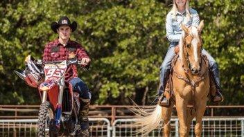 MotoGP: Bike vs Horse: Marquez takes on a horsewoman