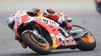 MotoGP: Marquez fa il vuoto nel warmup, 2° Vinales, 11° Rossi