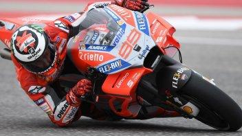 """MotoGP: Lorenzo: """"Honda e Yamaha hanno più agilità della Ducati"""""""