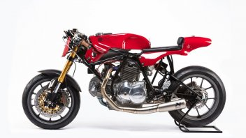 Moto - News: Alpinestars celebra la sua passione: Woolie Ducati 750 Sport