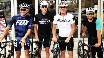 News: The odd couple: Cal Crutchlow and Lance Armstrong