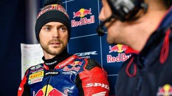 SBK: Camier salta Assen, in pista solo Gagne con la Honda