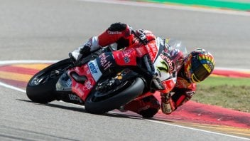 SBK: Super Davies at Aragon, the race 2 winner ahead of Rea and Melandri