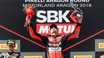 "SBK: Davies on the Race2 throne: ""I won without being able to push"""