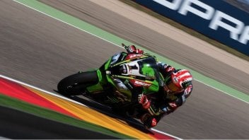 SBK: Rea wins at Aragon, beating the Ducati fleet