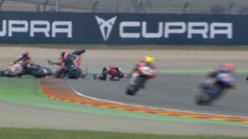 SBK: Serious accident for Camier, transferred to hospital