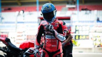 SBK: Melandri: adesso la Ducati non sbacchetta più