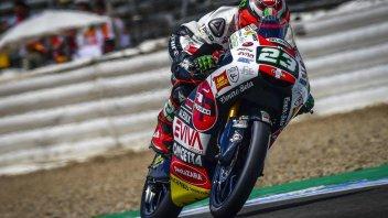 Moto3: FP2: è di Antonelli il venerdì a Jerez