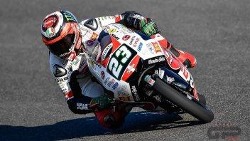 Moto3: FP2: Antonelli sorprende tutti, 3° Bastianini