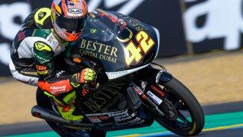 Moto3: FP3: solo Ramirez meglio di Antonelli