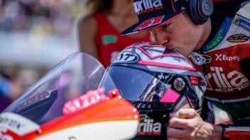 MotoGP: A. Espargarò: Aprilia più competitiva dopo i test al Mugello