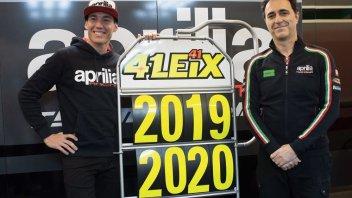 MotoGP: Aleix Espargaró: contratto con Aprilia fino al 2020
