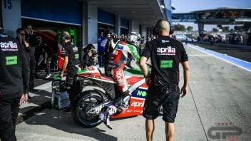 "MotoGP: ""A satellite team for Aprilia? better to strengthen the Test Team"""