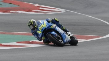MotoGP: Barcelona: Iannone quickest but the top riders stay in the garage