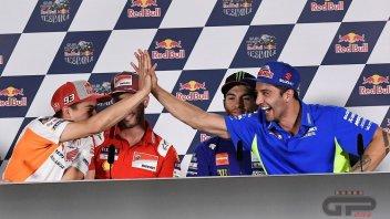"MotoGP: Marquez opens the door for Dovizioso: ""Him or Dani in Honda"""