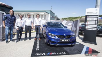 MotoGP: BMW M3 CS is the prize for the MotoGP BMW M Award in 2018