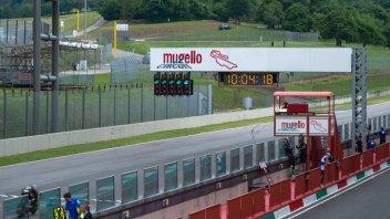 MotoGP: Rain interrupts the Mugello test. Marquez quickest