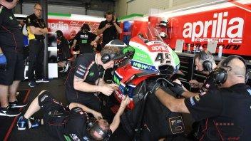 MotoGP: Test privati per Aprilia al Mugello e Barcellona