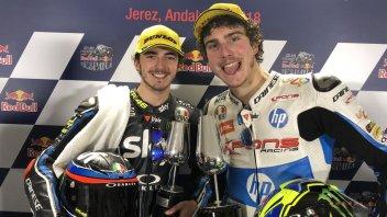 MotoGP: Baldassarri e Bagnaia: duello mondiale in casa