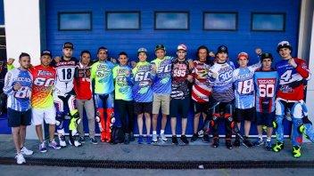 MotoGP: A Jerez il sostegno dei piloti italiani a Bryan Toccaceli