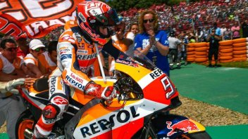 """MotoGP: Marquez: """"Ho vinto senza essere veloce"""""""
