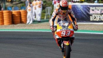"""MotoGP: Marquez: """"La caduta? Alberto Puig me l'aveva detto"""""""