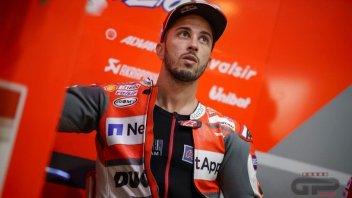 """MotoGP: Dovizioso: """"Un errore inaccettabile e stupido, non è da me"""""""