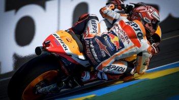 MotoGP: FP1: Marquez 1°, Dovi 2°: è subito sfida a Le Mans