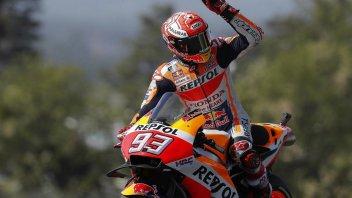 MotoGP: A Le Mans Marquez domina davanti a Petrucci e Rossi