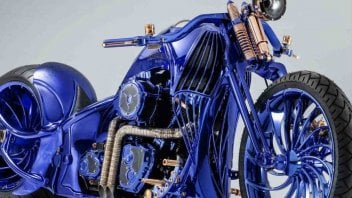 News Prodotto: Harley-Davidson Bucherer Blue Edition: vale... 2 mln di dollari!