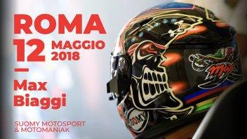 News Prodotto: La Suomy incontra Max Biaggi a Roma
