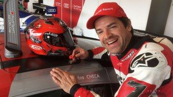 SBK: Checa due volte a podio con l'Audi R8 al Nurburgring