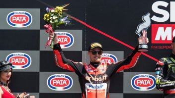 "SBK: Davies: ""I'm disappointed, the Panigale wasn't stable"""