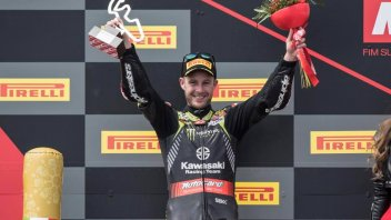 "SBK: Rea: ""I couldn't fight with van der Mark"""