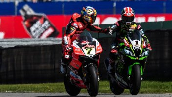SBK: Rea versus Davies: the battle hots up at Imola