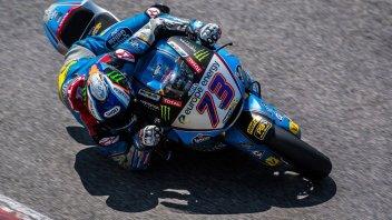 Moto2: FP1: Alex Marquez all'attacco, 5° Baldassarri, 7° Bagnaia