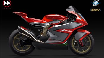 Moto2: Introducing the 2019 MV Agusta to be fielded by team Forward