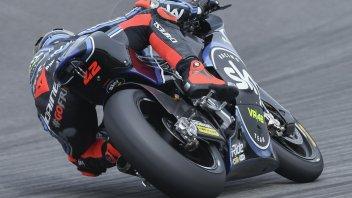 Moto2: FP1: caduta e miglior tempo per Bagnaia a Barcellona