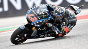 Moto2: Bagnaia fa da padrone il venerdì di Assen, 3° Marini