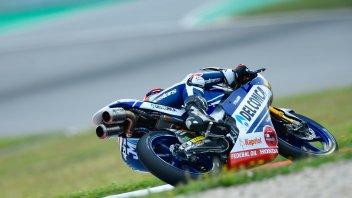 Moto3: FP1: pioggia di cadute, Martin il più veloce, Bulega 2°