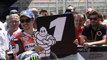 MotoGP: Jorge Lorenzo: bella la pole, ma sono triste per l'addio alla Ducati