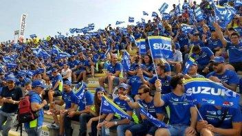 MotoGP: Suzuki colorerà di 'blu' le tribune di Misano