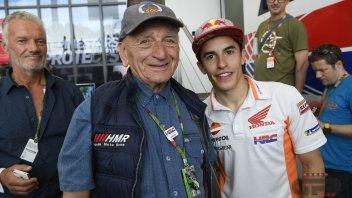 MotoGP: Marc Marquez meets the legendary Carlo Murelli
