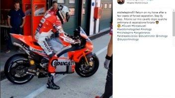 """MotoGP: Pirro di nuovo sulla Desmosedici GP: """"Ritorno sul mio cavallo"""""""
