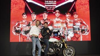 MotoGP: WDW 2018: i campioni si sfidano nella festa Ducati